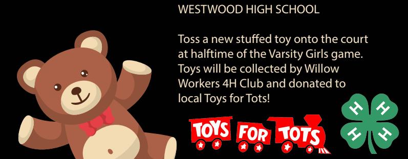 Westwood CSD - Teddy Bear Toss